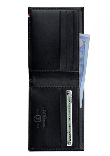 S.T. Dupont LIGNE D Billfold/ 6 credit cards - 180000