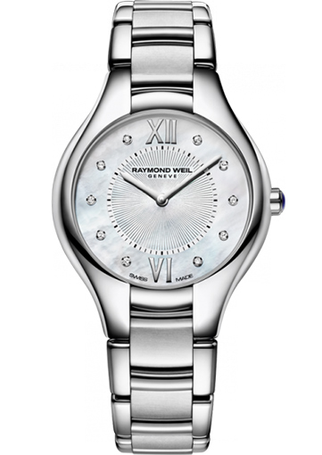 Raymond Weil NOEMIA 32 mm Steel on steel 10 diamonds - 5132-ST-00985