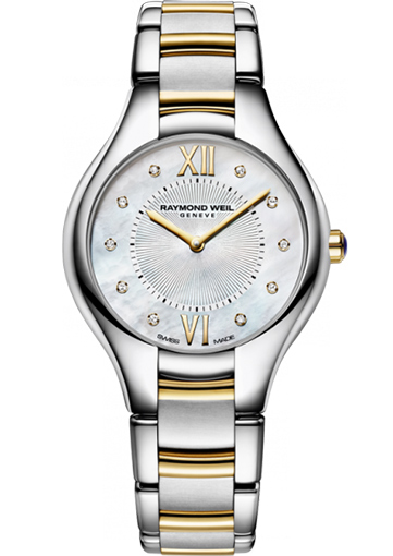 Raymond Weil NOEMIA 32 mm Two-tone 10 diamonds - 5132-STP-00985