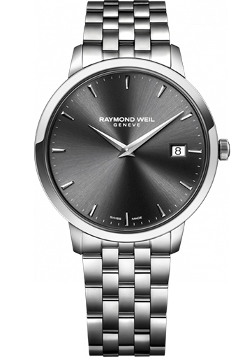 Raymond Weil TOCCATA 42 mm Steel on steel grey dial - 5588-ST-60001