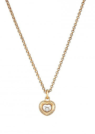 Chopard MISS HAPPY PENDANT 18-CARAT ROSE GOLD AND DIAMONDS
