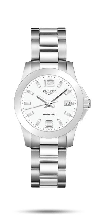Longines Conquest 34mm Quartz Lady - L3.377.4.16.6