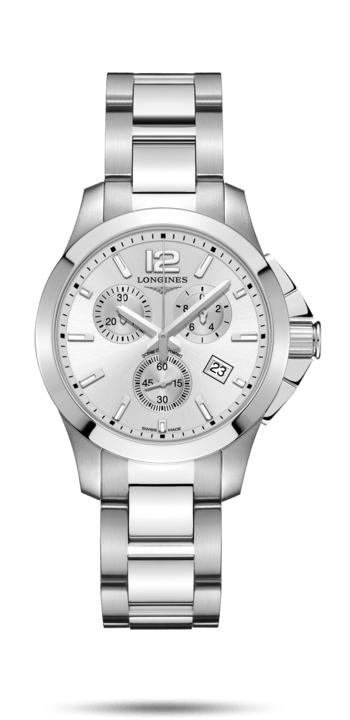 Longines Conquest Quartz Chrono 36mm - L3.379.4.76.6
