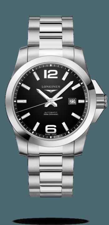 Longines Conquest Black Dial Automatic - L3.778.4.58.6