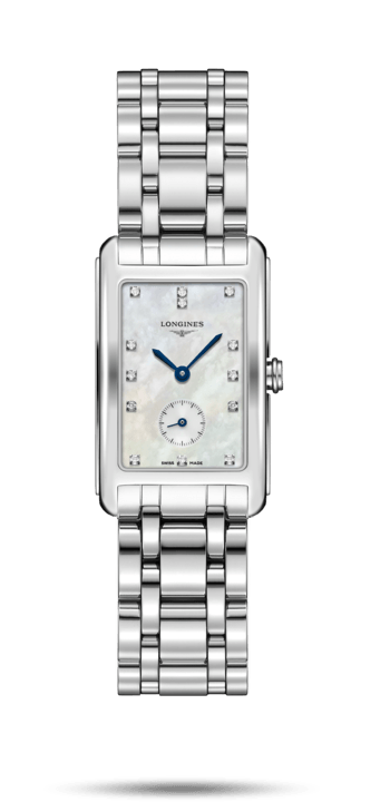 Longines DolceVita White Mother Of Pearl Dial Ladies - L5.512.4.87.6