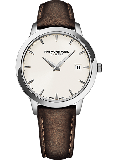 RW TOCCATA 34 mm Steel on satin strap, ivory dial 5388-STC-40001