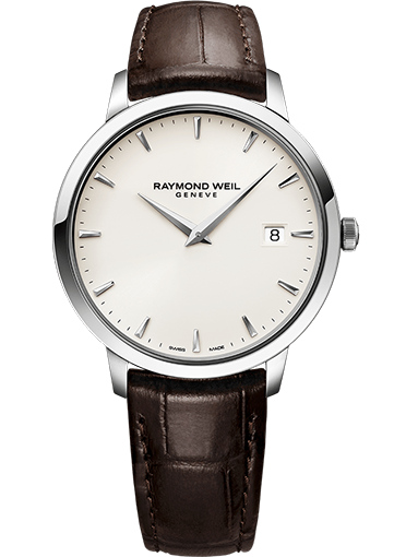 RW TOCCATA 42 mm Steel on leather strap, ivory dial 5588-STC-40001