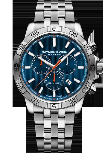 RW TANGO blue dial Quartz chronograph - 8560-ST2-50001