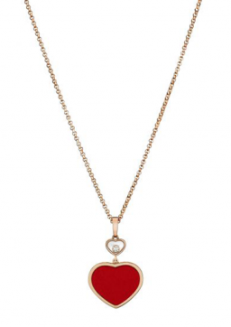 chopard happy hearts ogrlica